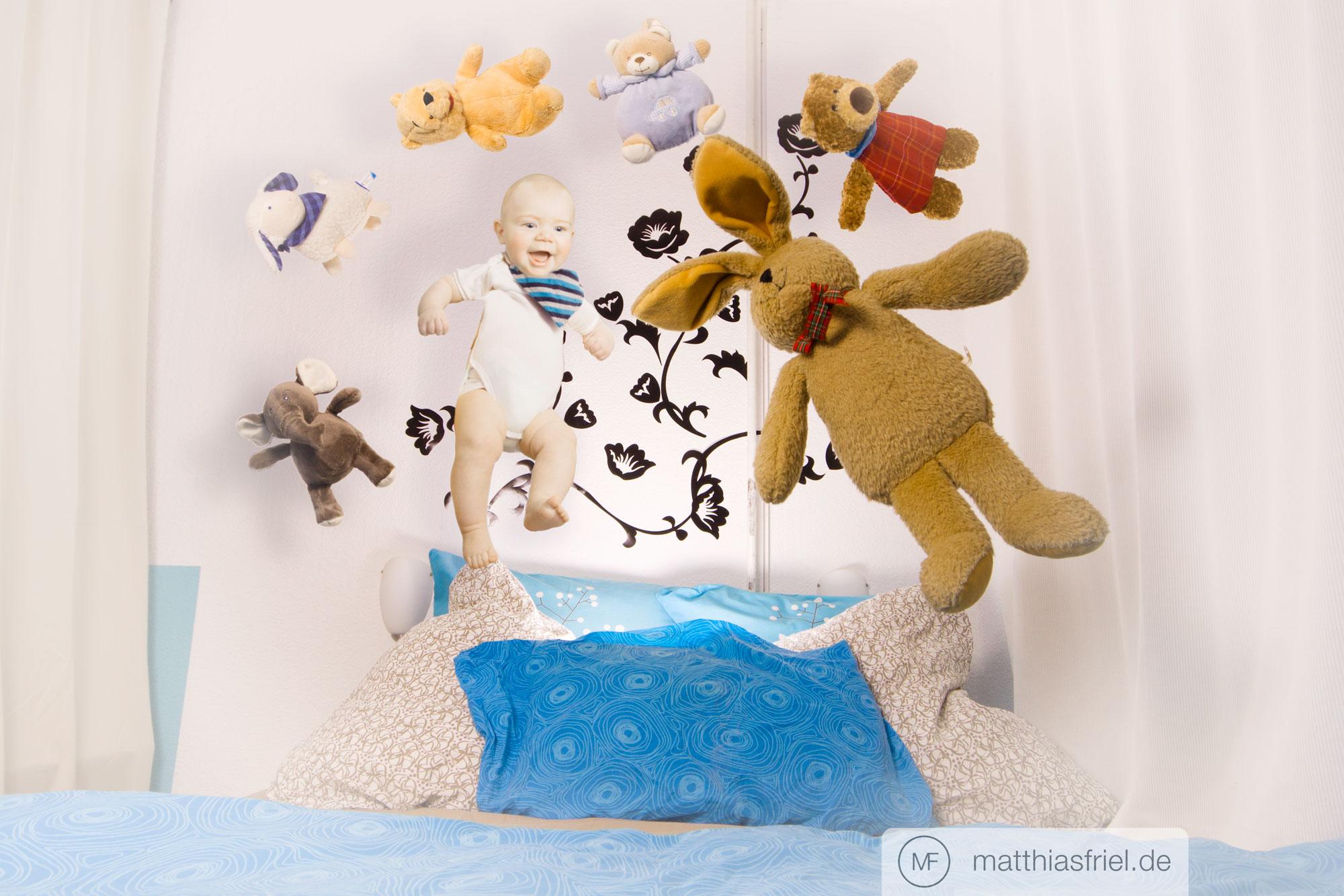 workshop: wie fotografiert man ein hüpfendes baby?