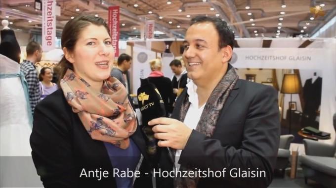 Hochzeitshof Glaisin mit Matthias Friel auf den Hochzeitstagen 2013 in Hamburg