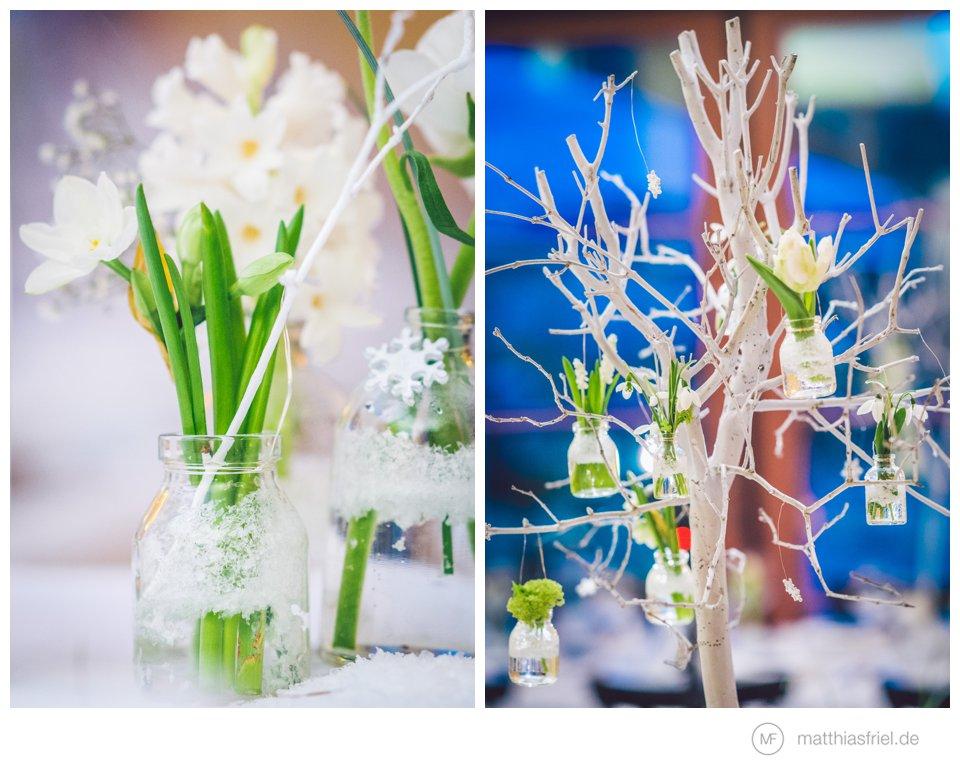 winterhochzeit floristik deko idee schloss basthorst