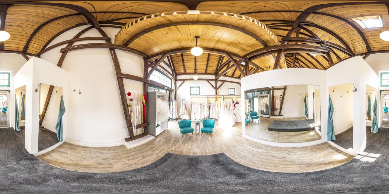 360° Panoramen auf dem Hochzeitshof Glaisin