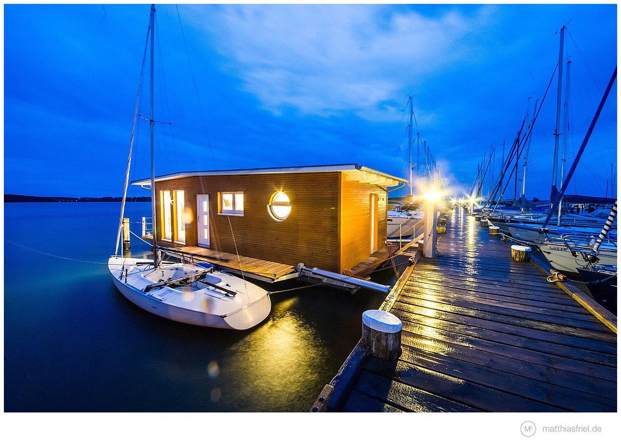 Naturhafen Krummin – Hausboot Style