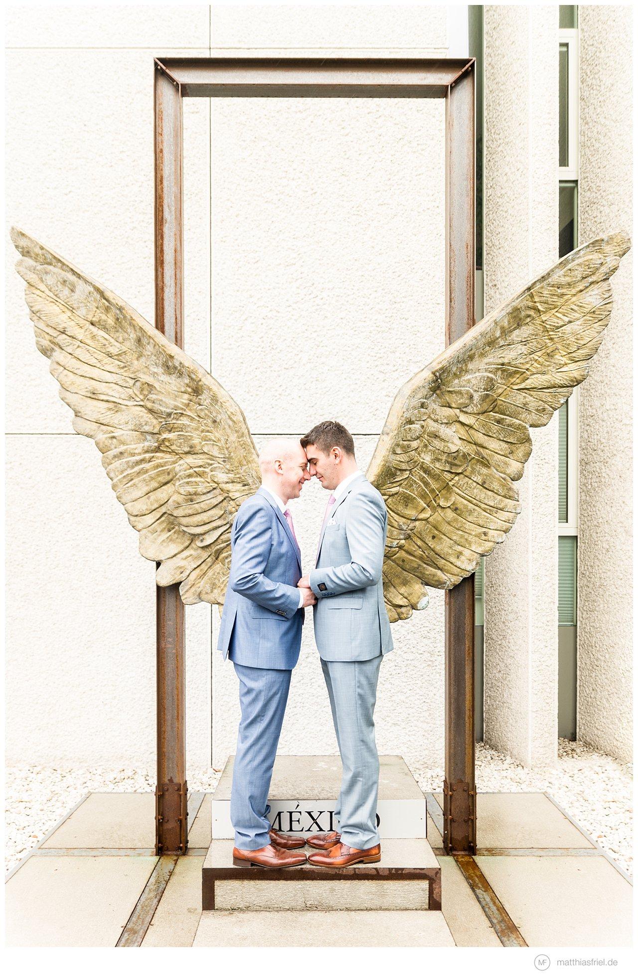 charming same sex wedding in berlin